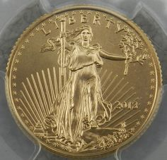 2013 1/4 oz Gold American Eagle MS-70 PCGS  Mint Coordinator Signed $490.00 + $10.50 Shipping