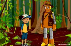 brainpop jr. Rainforest habitats Information & Activities