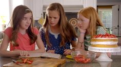 Aubrey K. Miller, Olivia Sanabia, and Abby Donnelly in Just Add Magic (2015)