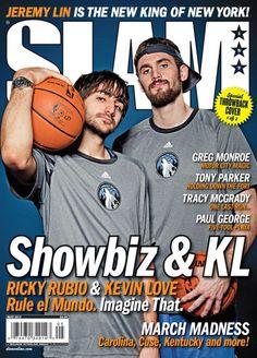 Ricky Rubio and Kevin Love reenact a classic cover #RickyRubio el año que viene sera su año..ya vereis