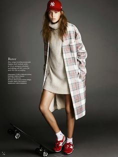 obsessed with this fall look - elle sweden