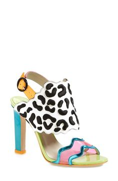 SOPHIA WEBSTER 'Dionne' Mixed Media Sandal (Women) available at #Nordstrom ♡♡☆☆♡♡ love