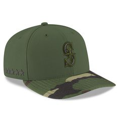 Men s Seattle Mariners New Era Green 2017 Memorial Day Low Profile 59FIFTY  Fitted Hat b6339c92dddd