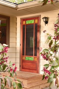 How to Build an Arts and Crafts Style Lyptus Screen Door - Free Woodworking Plan
