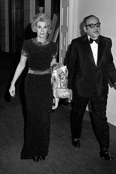 Joan Rivers and Edgar Rosenberg in 1972 [Photo by Frank Diernhammer]