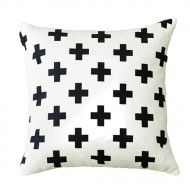 Double sided black on white swiss cross cushion cover made from durable canvas. Our swiss cross cushion covers have an invisible zip closure and are sized for a x cushion insert. Perfect for beds, sofas and home decoration. Cushion Inserts, Cushion Covers, Pillow Covers, Throw Cushions, Bed Pillows, Toss Pillows, Accent Pillows, Layout Design, Real Living Magazine