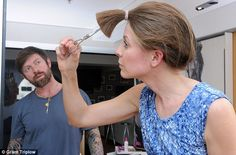 Is a DIY hairdo a shortcut to disaster? As more women skip the salon to save money, one brave volunteer tries cutting her own hair | Mail Online