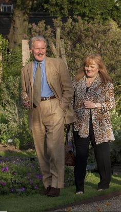Freaking me out...Downton Abbey's                               Dr. Clarkson and Mrs. Patmore LOVE IS IN THE AIR