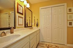 An easy update for an outdated bathroom!