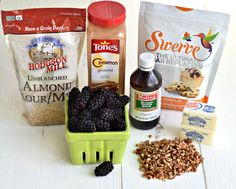 Low Carb & Delicious Berry Crisp ~ http://www.southernplate.com