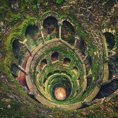 The Initiation Well, Sintra, Portugal