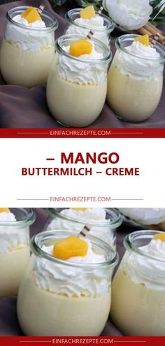 Mango – Buttermilch – Creme 😍 😍 😍 You are in the right place about Fruit desserts Here we offer you the most beautiful pictures about the mango Fruit you are looking for. When you examine the Mango – Mango Pineapple Smoothie, Smoothie Fruit, Mango Smoothie Recipes, Parfait Recipes, Oreo Desserts, Summer Desserts, Easy Desserts, Summer Recipes, Summer Food