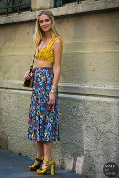 Chiara Ferragni by STYLEDUMONDE Street Style Fashion Photography