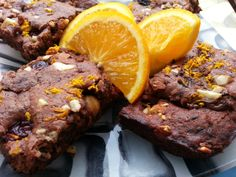 Brownies veganos de chocolate y frutos secos #vegano #vegetariano #sano #brownie