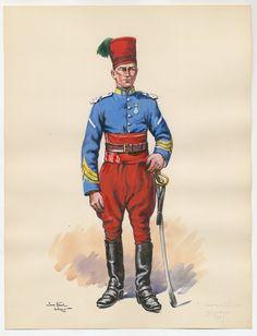 Chasseurs d'Afrique Brigadier 1939 by Leroux, Pierre Albert (Paris 1939)