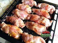 Carne, Shrimp, Food And Drink, Pork, Chicken, Martha Stewart, Salads, Kale Stir Fry, Pigs