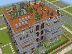 Sims Freeplay House Design // Apartment Block