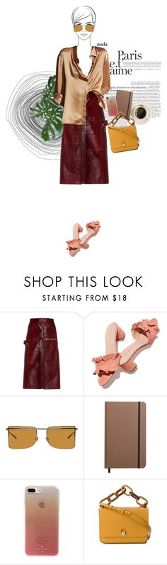 """""""BALI"""" by onemorepose ❤ liked on Polyvore featuring Vetements, Loeffler Randall, Calvin Klein 205W39NYC, Shinola, Kate Spade, Sophie Hulme, cool and polyvoreeditorial"""