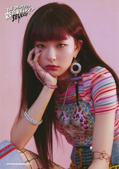 ms. kang seulgi can step on me anytime and i'll be very thankful