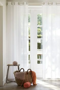 Custom size curtains from our online curtains webshop. Select from our exclusive range of quality curtains, drapes and sheers at affordable prices! Curtains With Blinds, House, Home, Paint Colors For Living Room, New Homes, Curtains, Blinds, White Curtains, Window Treatments
