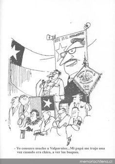"Renzo Pecchenino  --  Chiste del candidato en Valparaíso  --  ""Lukas""    Memoria Chilena Humor, Movie Posters, Movies, Cartoon, Caricatures, Bicycle Kick, Modern Art, Jokes, Cheer"