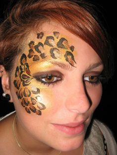 zebra half face paint - Google Search
