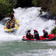Rafting is an interesting sports and can be done at the Assi river! By Gaby Reaidy  #Lebanon #WeAreLebanon