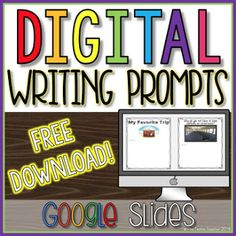 Literacy Tips for Digital Writing Writing Lessons, Teaching Writing, Writing Activities, Writing Journals, Classroom Activities, Writing Prompts, Classroom Ideas, Teaching Ideas, Expository Writing