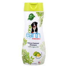 One Earth Natural Oatmeal Shampoo with Argan Oil (smells SOOO good)