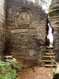 Česko, Lužické hory - Dutý kámen