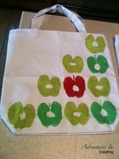 each student could use their hand prints instead of apples for a teacher keepsak... ** Visit the image link more details.