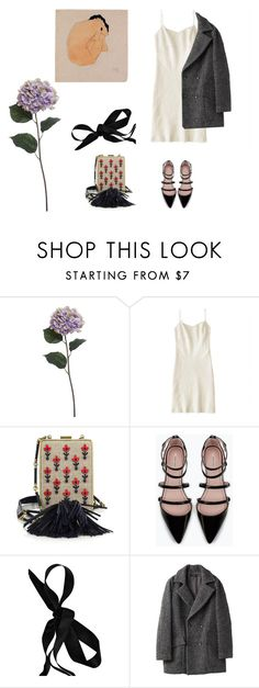 """""""date"""" by pieaah ❤ liked on Polyvore featuring Pier 1 Imports, Dosa, Tory Burch, Zara and Marni"""