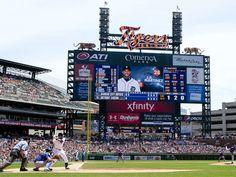 Aug 6, 2015; Detroit, MI, USA; A general view as Kansas