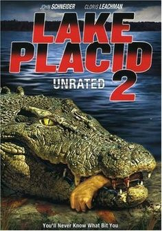 Free Watch Lake Placid 2 : Movie Online Man-eating Crocodiles Return To The Lake As Two Males And One Aggressive Female Crocodile, Which Is. Best Horror Movies, Horror Movie Posters, Good Movies, Horror Films, Lake Placid Movie, Banks, John Schneider, Hd Movies Online, Movie Covers