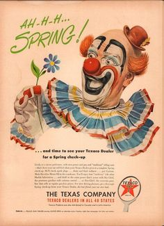 1950 Texaco Ad