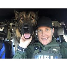 Happy officers.