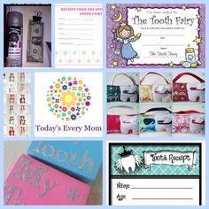 Cute tooth fairy receipt  to print. Tooth Fairy Ideas  #TodaysEveryMom