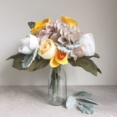 Paper Flower Bouquet, the Rose collection £42.99