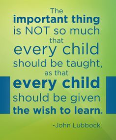 We need to help students want to learn.