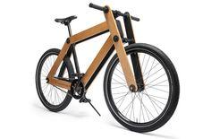 De Sandwichbike: een houten fiets die je zelf in mekaar moet knutselen