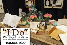 "#ad ""I Do"" Custom Wedding Invitations. You dream it, we create it."