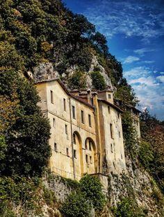 Greccio Abbey, Rieti, Lazio, Italy