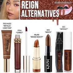Kylie Jenner Cosmetics Reign Lipstick Alternatives ✨ More details on allintheblush.com
