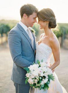 One of Jose Villa's Most Beautiful Weddings -- On Style Me Pretty: http://www.StyleMePretty.com/2014/03/12/al-fresco-wedding-in-santa-ynez/ Jose Villa Photography   Floral Design: Mindy Rice   Wedding Planning: Alexandra Kolendrianos