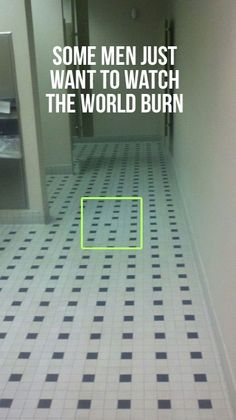 Hahaha. That would drive me insane.