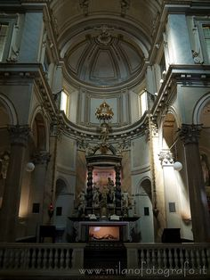 Altar and aps of the Church of San Sepolcro in Milan (Italy). Visit the website for other pictures and info!