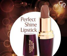 Perfect Shine Lipstick'in kahve tonlarıyla çarpıcı dudaklara ne dersin? http://goldenrosestore.com.tr/perfect-shine-lipstick-216.html