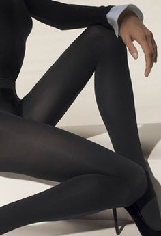 Wolford grey tights
