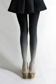 tie dye legs.