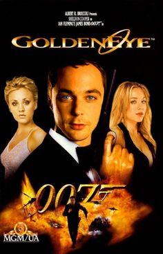 Golden eye - The Big Bang Theory Fan Art